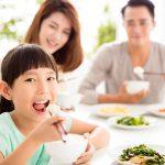 5歳の女の子の食事と量